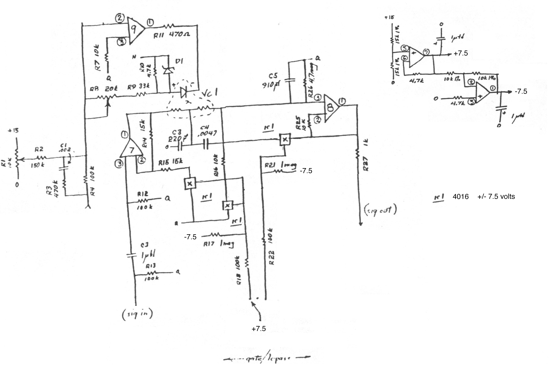 Index of /diy/Schematics/Compressors Gates and Limiters on