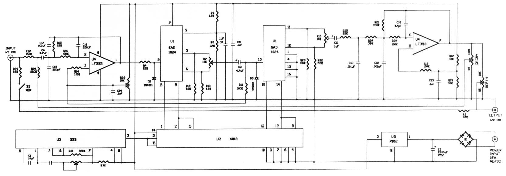 Wiring Diagram Dod Chorus Pedal Page 3 And Schematics Guitar Diagrams Index Of Diy Delay Echo Samplers Stompbo Pedals Schematic