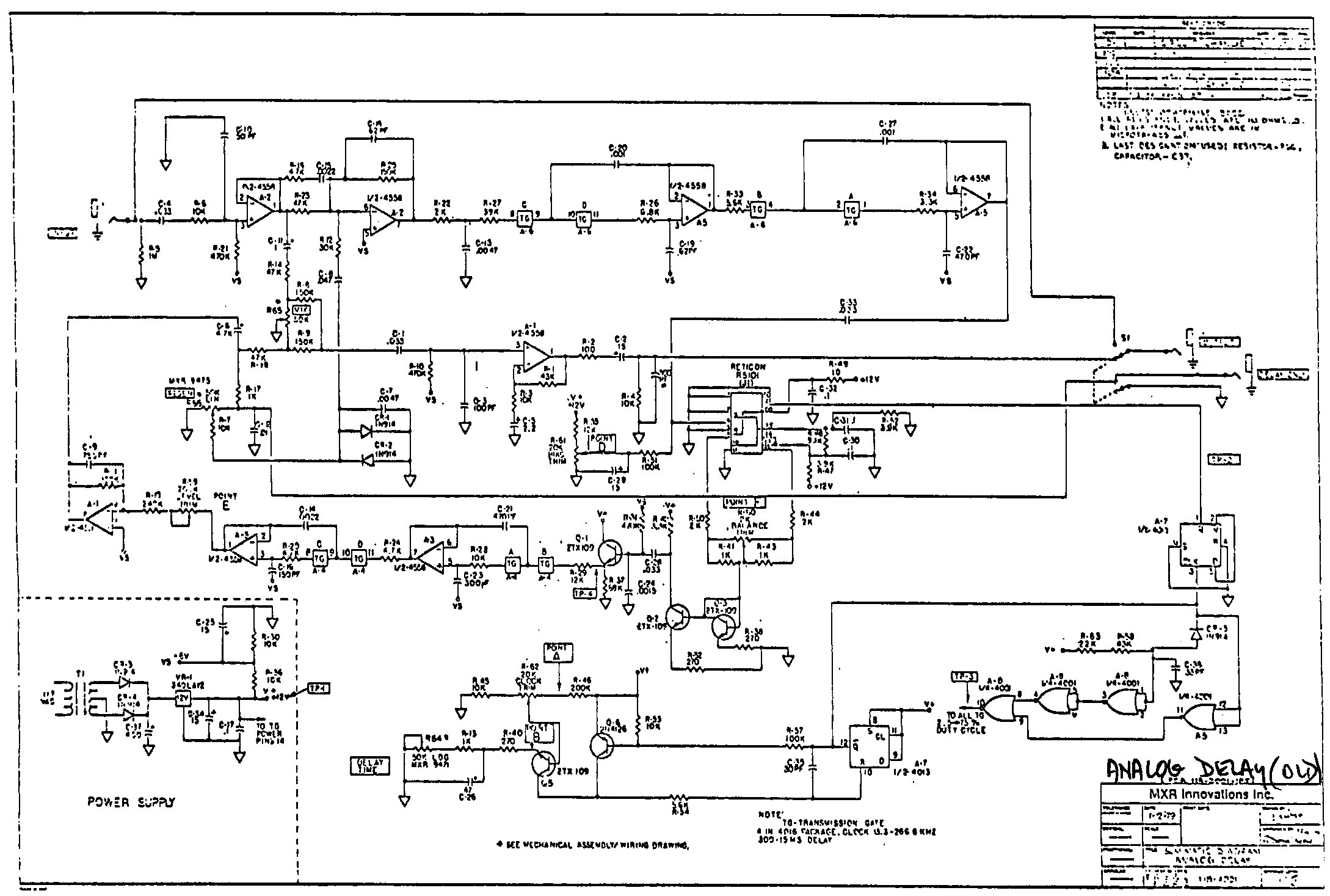 Ibanez Delay Schematics Car Wiring Diagrams Explained 5 Way Switch Diagram Index Of Diy Echo And Samplers Rh Experimentalistsanonymous Com