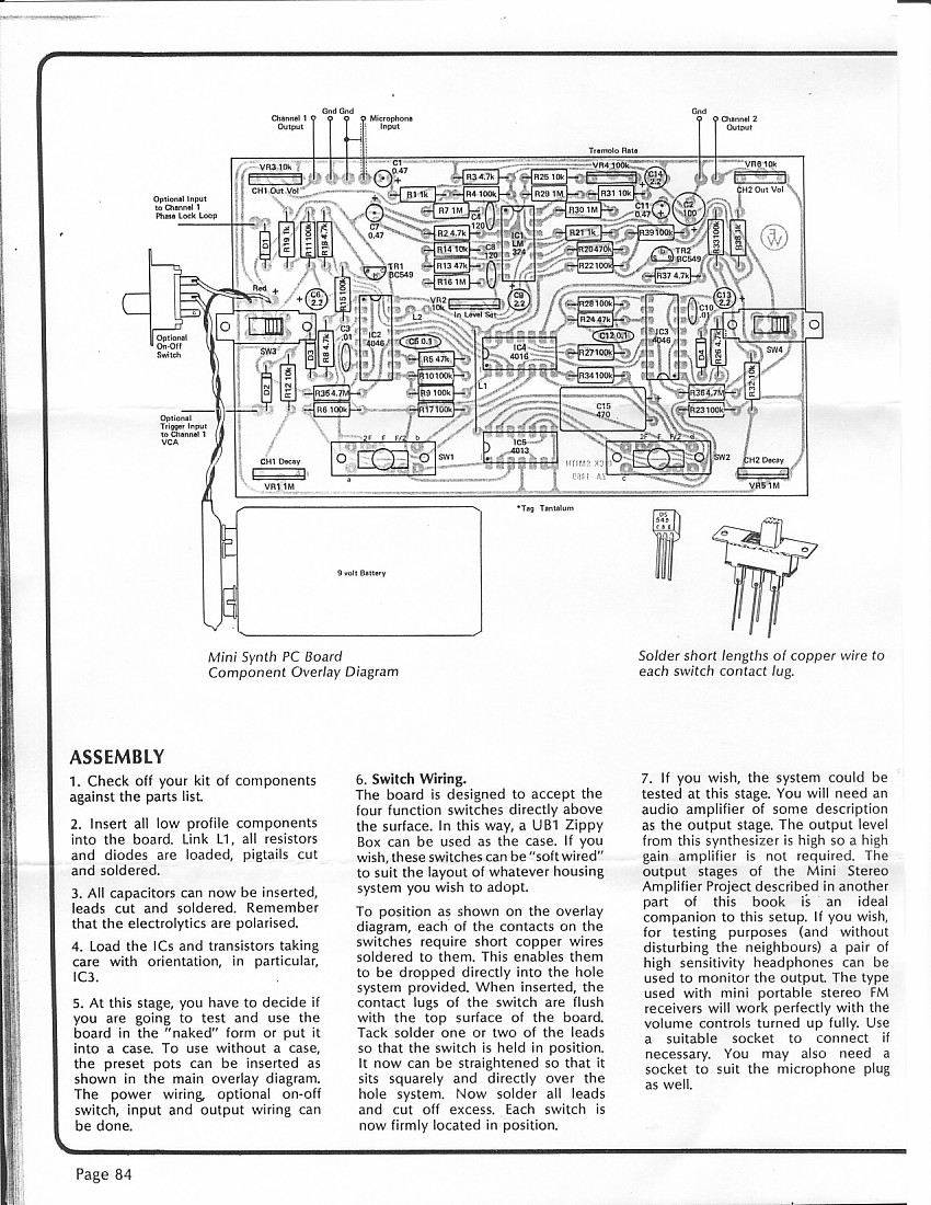 index of diy schematics guitar synth and misc signal shapers rh experimentalistsanonymous com Guitar Wiring Diagrams 2 Pickups Guitar Wiring Diagram Two Humbuckers