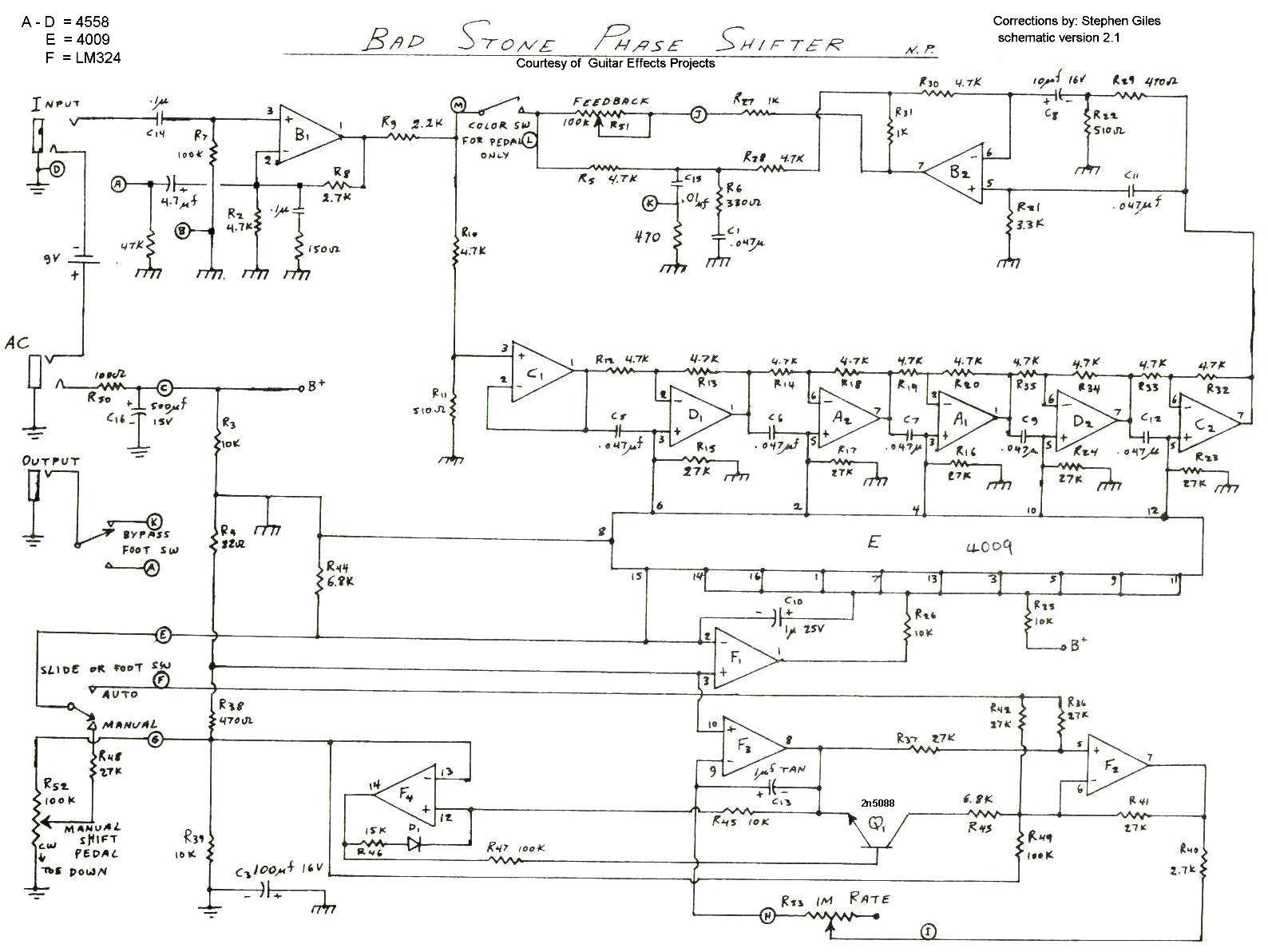 Electro Harmonix Graphic Equalizer Schematic Wiring Diagrams Index Of Diy Schematics Phasers Deluxe Memory Man