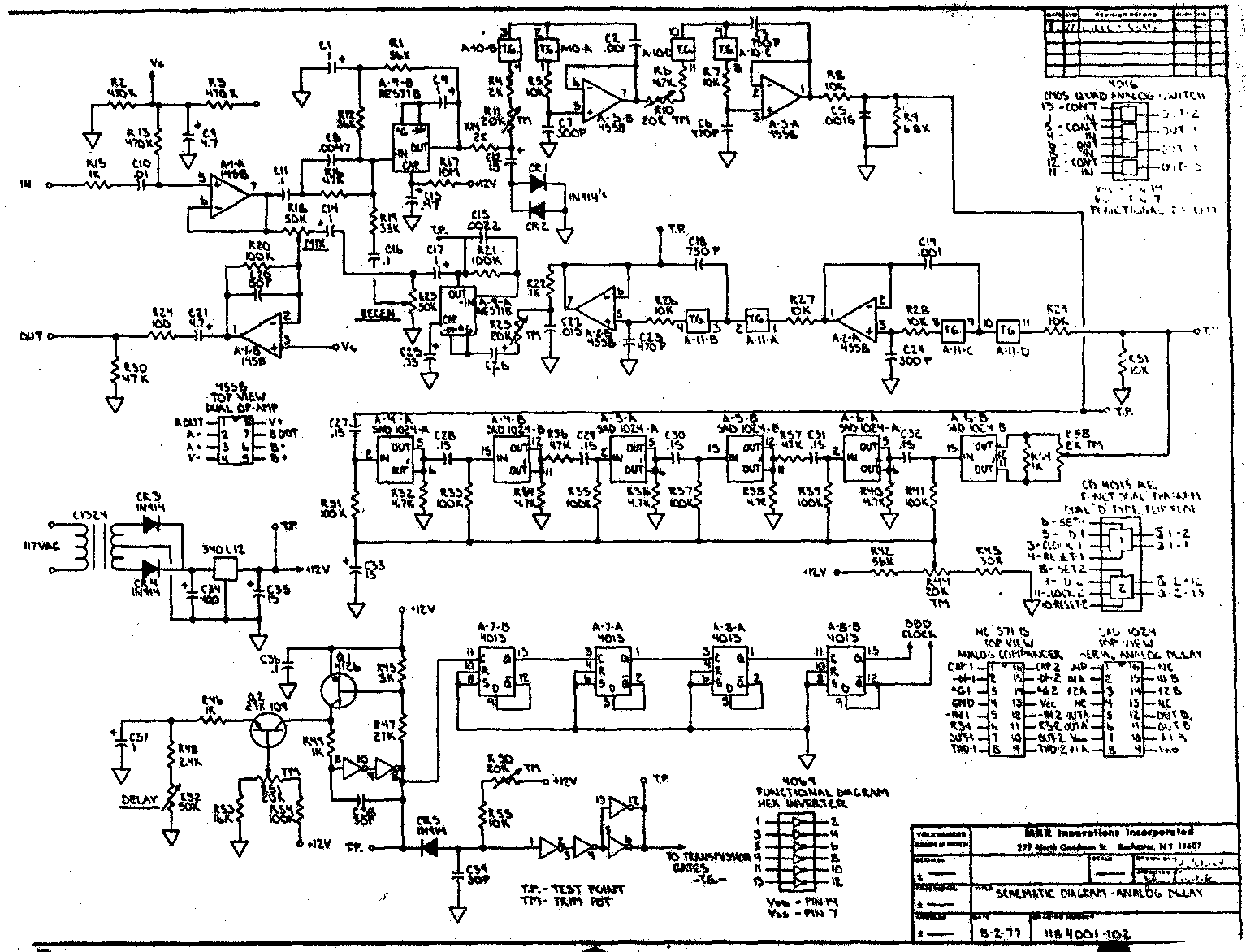 Mxr Graphic Equalizer Circuit Analysis Perf And Pcb Effects Layouts Stereo Wiring Diagram Download